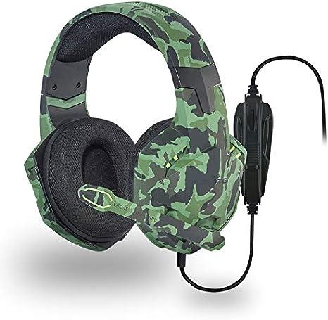 Elyte CSMGAME1CAMO Pack de Auriculares + ratón Gaming: Amazon.es: Videojuegos