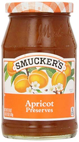 Smucker's, Apricot Preserves, 18oz Jar (Pack of 2)