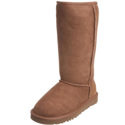 UGG Kids Girl's Classic Tall (Little Kid/Big Kid) Chestnut 3 Little Kid M by UGG