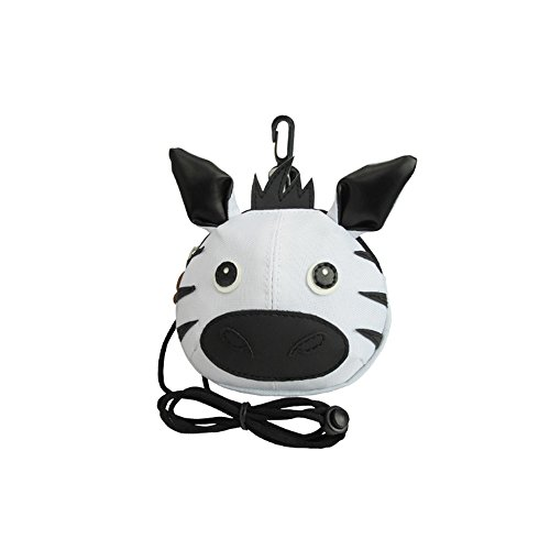 - Lovely Zoo Animal Zebra Kids Coin Pouch
