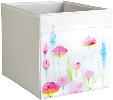Personalizada IKEA DRONA caja de almacenaje Ikea Expedit o Kallax Insertar acuarela pastel temas: Amazon.es: Hogar