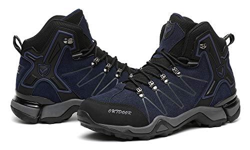 En De Escalade blue Glisse 11 Face Baskets Air Vamp Randonne Camping Plush Hommes Chaussures Plein Pour Double Bottes WUqYwdTU4
