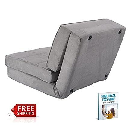 Astonishing Amazon Com Ats Foam Flip Chair Bed Convertible Couch Bed Machost Co Dining Chair Design Ideas Machostcouk