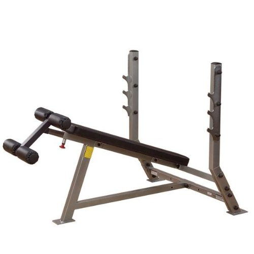 Body-Solid Decline Olympic Bench by Ironcompany.com