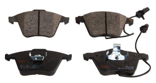 (TRW TPC1111ES Black Premium Ceramic Rear Disc Brake Pad Set)