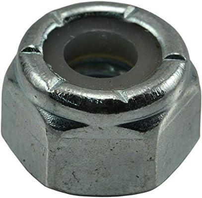 Piece-50 Hard-to-Find Fastener 014973473723 Coarse Nylon Insert Lock Nuts 12-24