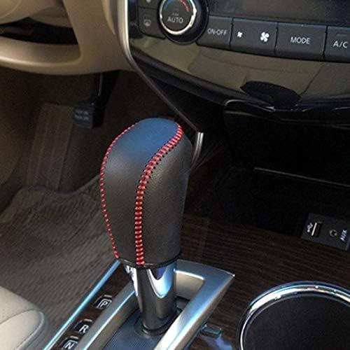 Moligh doll Copertura del Pomello del Cambio della Testa del Cambio Automatico nel Pelle per 6 7 MK6 MK7 DSG Passat B7 Touran