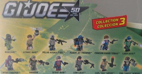 Kre-O G.I. Joe Mystery Bag Collection 3 - Loose Figure - Atomic (Gi Joe Loose Figure)