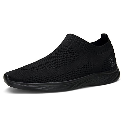 Escort Runners Walking Shoes for Men and Women Slip-on Sneakers Flyknit Light Athletic Shoes Tennis Shoes SPT003-U2-46-1