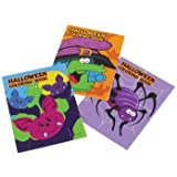 Mini Halloween Coloring Books : package of 12