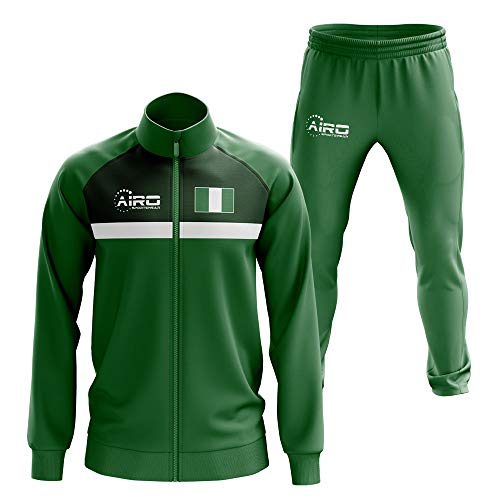 Airosportswear Nigeria Concept Football Tracksuit (Green)