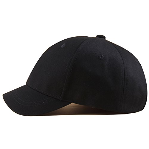 Adjustable ZnzbztCap children in spring and summer baseball cap female Korean fashion short awnings visor and small outdoor along cap tide of youth embroidery army color