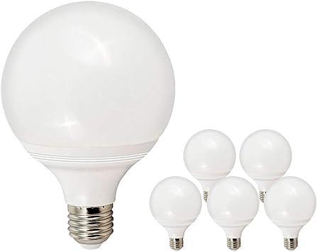 Pack de 5 Bombillas LED E27 Bajo Consumo GIJON G120 · Lámpara LED ...