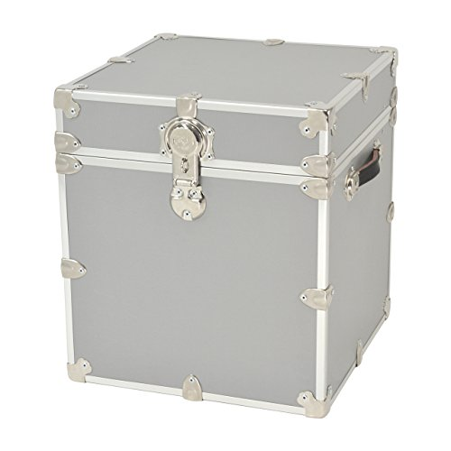 (Rhino Trunk and Case Armor Trunk, Cube, Silver)