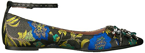 Circo Di Sam Edelman Donna Rocco Mary Jane Flat Nero / Multi / Metallic Broccato Floreale