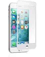 لاصقة حماية زجاجية ثلاثية الابعاد لهاتف ابل ايفون 7 - أبيض