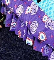 Powerpuff Girls Psychedelic - BEDSKIRT - Full/Double Size