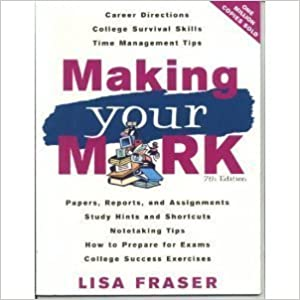 Book Making Your Mark [PB,2007] by Lisa_Fraser (2007-05-03)