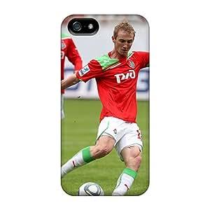 High Quality Shock Absorbing Case For Iphone 5/5s-vladislav Ignatiev Lokomotiv Player On The Field