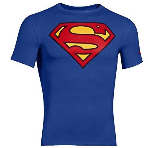 Under Armour Alter Ego Short Sleeve Compression T-Shirt - SS17 - Medium - Blue