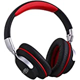 AUSDOM Wireless Over Ear Bluetooth Headphones with Microphone ShareMe Bluetooth 4.1 for Stereo Music Listening- Lightweight and Foldable Sports Headset Suitable for Exercise, Gym, Gaming and More