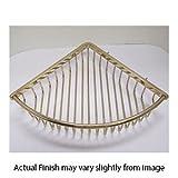 11.25'' Corner Shower Basket - Antique Gold