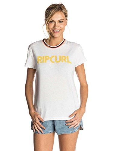 Camiseta Stripy Mama Blanco Curl Rip Mujer CH5qxtFgw