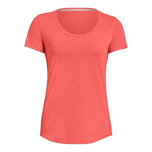 - Under Armour Women's Threadborne Streaker Short Sleeve, After Burn, Medium