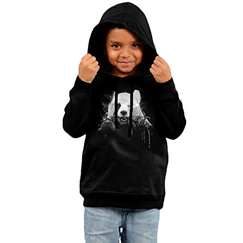 Price comparison product image 2016 Panda Cool Hoodies Black Sweatshirts For Your Kid