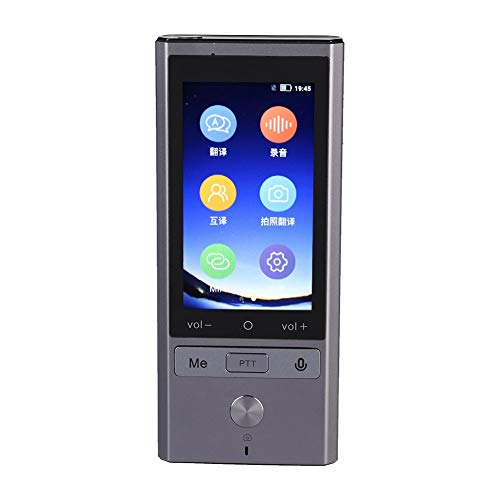 Voice Language Translator Device,Portable Real Time Smart Translation with Offline Photo Translation,75 Languages Multi-language Instant Pocket Translator support NANO SIM 4G / 3G, WIFI+GPS+BT