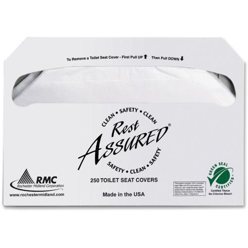 Rest Assured Toilet Seat Covers (5,000 Count - 20 Pack)