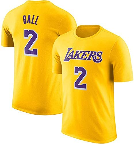 AWZH NBA Maillot Los Angeles Lakers Basketball Sport Lettres
