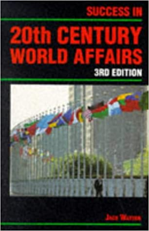 Success in 20th Century World Affairs (Success Studybooks)