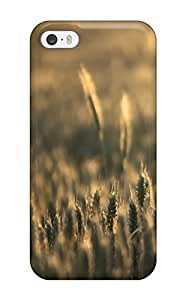 Flexible Tpu Back Case Cover For Iphone 5/5s - Wheat