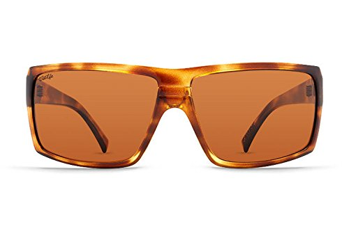 (Von Zipper Snark Wildlife Polarized Sunglasses-Tortoise Gloss-Bronze)