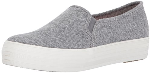 Keds Women's Triple Decker Sweatshirt Jersey Fashion Sneaker Gray high quality for sale CJgh4