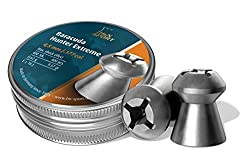 H&N Baracuda Hunter Extreme Hollowpoint Airgun Pellets, Deadly Accuracy for Hunting, .177 Caliber / 9.57 Grains (400 Count)