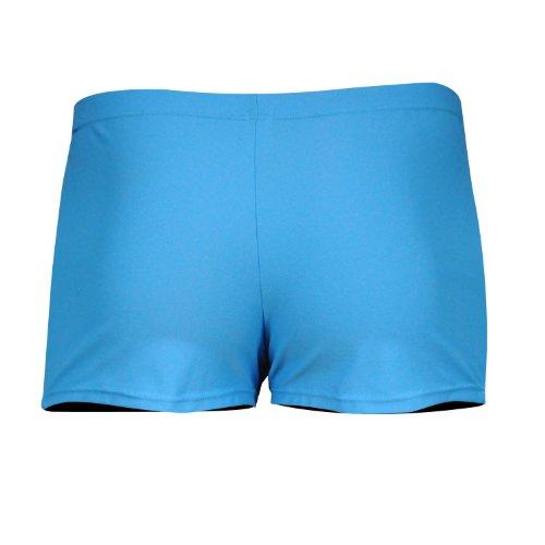 iQ-Company Herren Badehose UV 300 Swimshorts Bites 642401, Blau (2444),  S