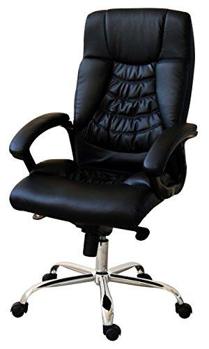 Executive Office Chair - With Synchro-Tilt Mechanism | Adjustable Height and Back (One Synchro Tilt Chair)