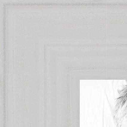 Amazon.com - ArtToFrames 16x20 inch Off White Wash Barnwood Frame ...