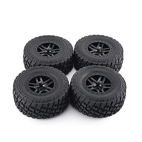 Rueda llanta y neumático 4pcs AUSTAR 110 mm del borde del neumático de goma del sistema ...