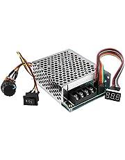 Regeling Huidige DC Speed Controller DC10-55V 12V 24V 36V 60A PWM Motor Speed Controller CW CCW Omkeerbare Schakelaar