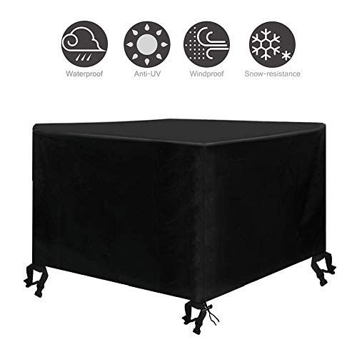 Osarke Outdoor Patio Furniture Covers Outdoor Sectional Furniture Set Covers Table Chair Sofa Winter Covers UV Resistant Waterproof Snow Resistant for Square Dining Tables