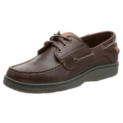 Sperry Men's Billfish 3-Eye Boat Shoe, Amaretto, 11 M US