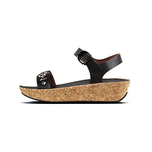 Fit sort Ii Sort rem Bon Kvinde Armbånd 001 Sandaler Flop Back Sandal Tm RwTAraqR