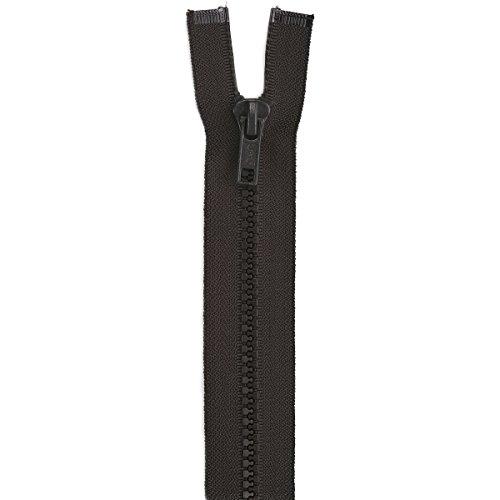 """Coats F4324-056B Sport Separating Zipper, 24"""", Cloister Brown"""