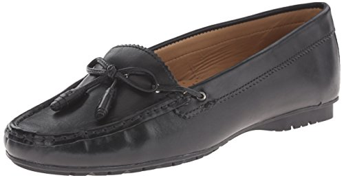 Leather Sebago Black Ballet Meriden Women's Flat Tie O8O4p6