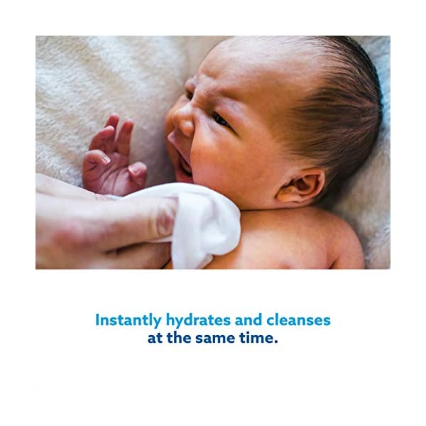 WaterWipes Salviettine Umidificate per la pelle sensibile dei bambini, 99,9% di acqua purificata, 12 Confezioni da 60 4