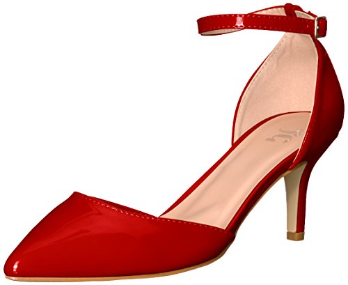 Brinley Co Mujeres Mike-p Pump Red