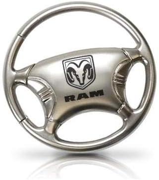 RAM Logo Steering Wheel Key Chain
